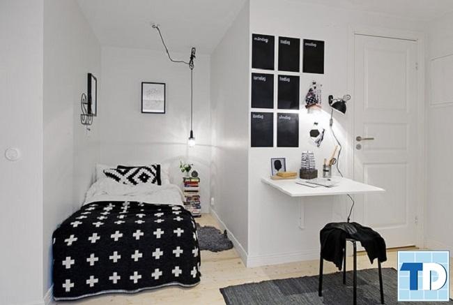 Phòng ngủ nhỏ 9m2 trang nhã