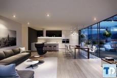 Không gian sống đẳng cấp với thiết kế nội thất chung cư diện tích 150m2