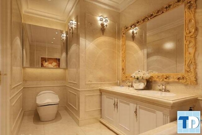 Mẫu nhà tắm tân cổ điển