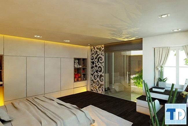 Phòng ngủ mang thiên nhiên vào nhà
