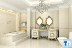 Không gian các mẫu nội thất nhà tắm tân cổ điển đẹp sang trọng đẳng cấp