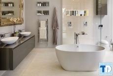 Thiết kế nội thất nhà tắm tân cổ điển đẹp sang trọng