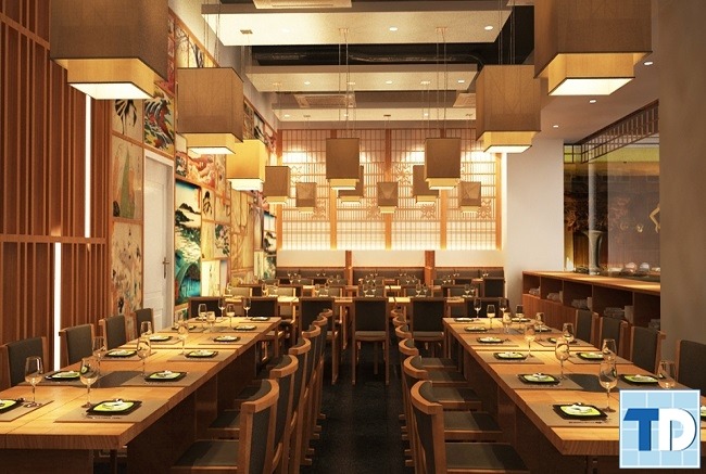 Nhà hàng theo phong cách Nhật Bản