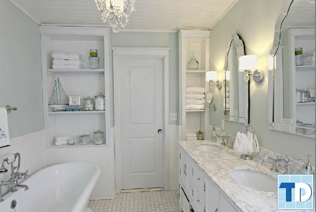 Phòng tắm tân cổ điển sang trọng