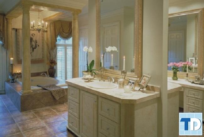 Phòng tắm tân cổ điển thời thượng