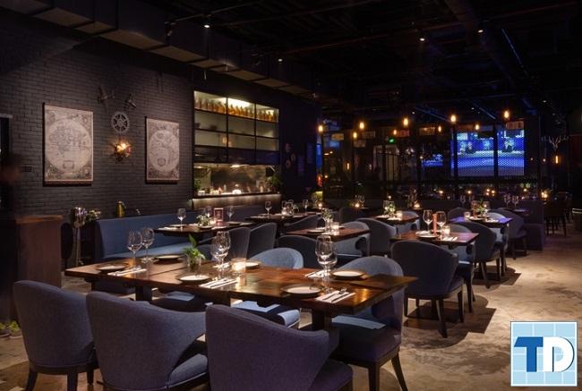 Phong cách nhà hàng hiện đại