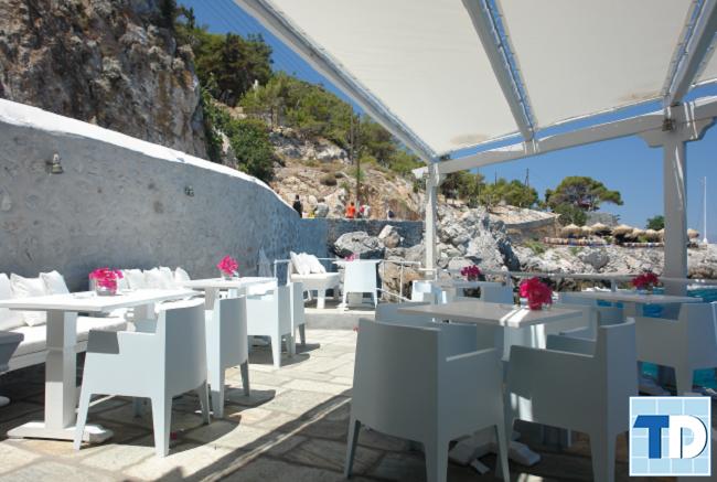 Nhà hàng độc đáo trên núi
