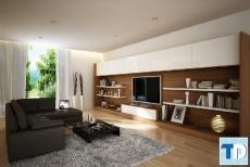 Mẫu căn hộ 2 phòng ngủ tiện ích, hiện đại nhất hiện nay