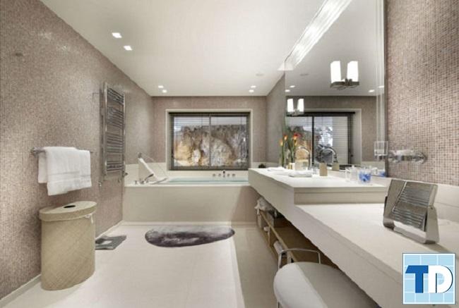 Mẫu phòng tắm hiện đại