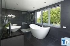 Mẫu thiết kế nội thất nhà tắm hiện đại mang tới cuộc sống hoàn hảo