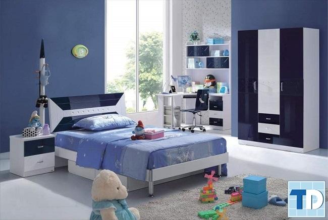 Phòng ngủ bé trai nhỏ