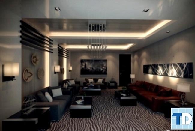 Phòng khách căn hộ Times City