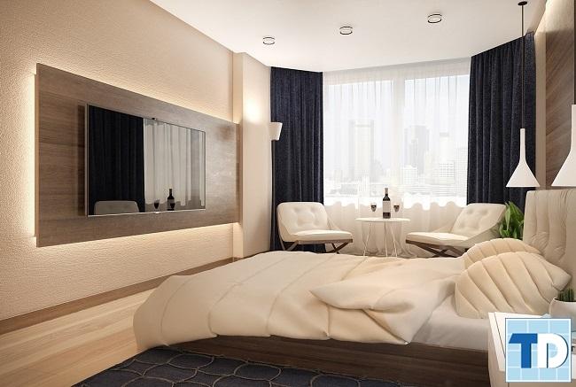 Phòng ngủ bố mẹ trang nhã tiện nghi