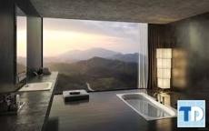 Thiết kế nội thất nhà tắm đơn giản hiện đại tiện dụng