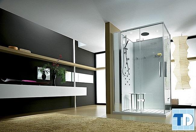 Phòng tắm đơn giản tạo không gian gần gũi