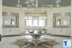 Thiết kế nội thất nhà tắm tân cổ điển sang trọng mê hoặc lòng người