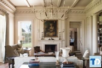 Mẫu nội thất nhà 4 tầng tân cổ điển lộng lẫy đẳng cấp không gian sống