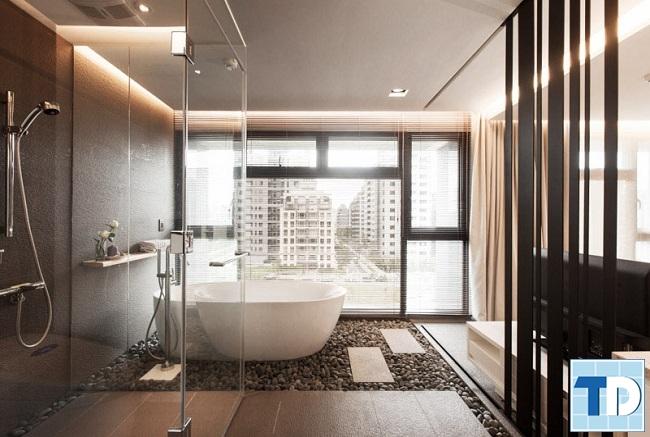 Nội thất nhà tắm sang trọng