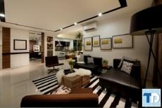 Mẫu nội thất căn hộ 2 phòng ngủ nhỏ đẹp dành cho các cặp vợ chồng trẻ