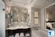 Thiết kế nội thất nhà tắm tân cổ điển quý phái đẳng cấp xa hoa
