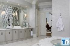 Thiết kế nội thất nhà tắm tân cổ điển đẳng cấp quý tộc  hoàng gia