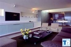 Nội thất căn hộ 2 phòng ngủ nhỏ sang trọng tiện nghi hiện đại
