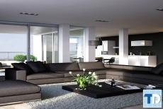 Nội thất căn hộ chung cư ct1a nghĩa đô bền đẹp tiện nghi đẳng cấp