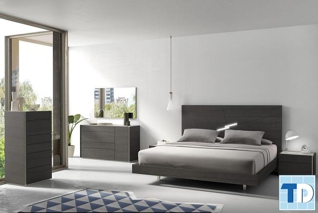 Phòng ngủ con trai được thiết kế đơn giản