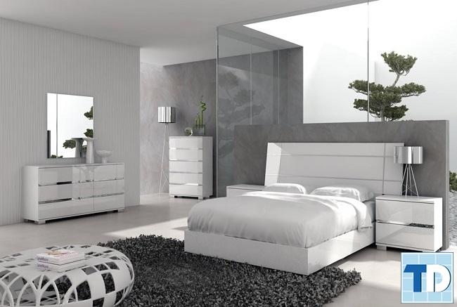 Phòng ngủ master thông thoáng
