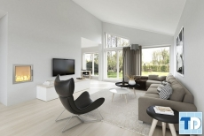Thiết kế nội thất chung cư CT1B Nghĩa Đô đỉnh cao phong cách hiện đại