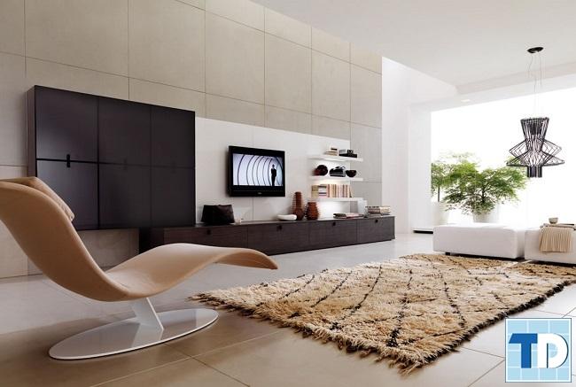 Phòng khách chung cư 2 phòng ngủ
