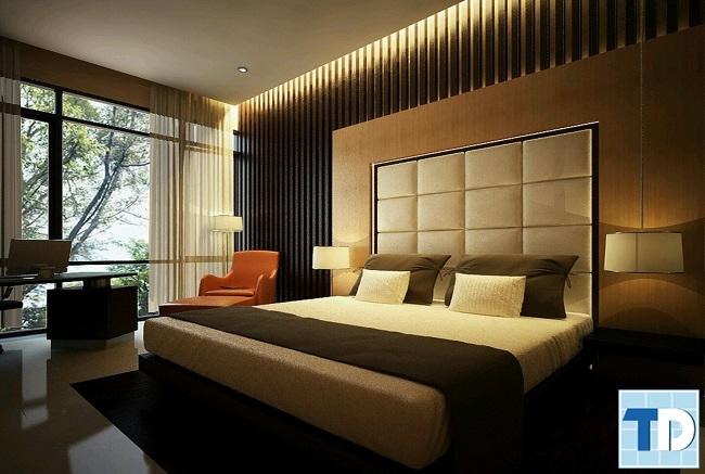 Phòng ngủ master ấm cúng sang trọng