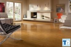 Mẫu nhà đẹp với sàn gỗ công nghiệp hiện đại tinh tế