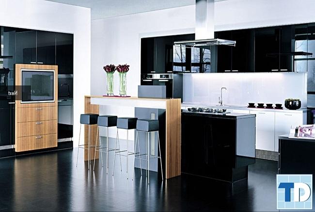 Nội thất phòng bếp cao cấp