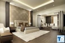 Đẳng cấp không gian thiết kế mẫu nội thất phòng ngủ nhỏ sang trọng