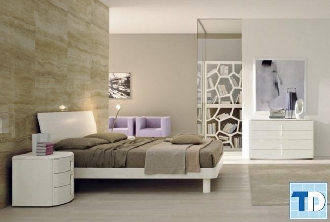 Phòng ngủ nhỏ sang trọng