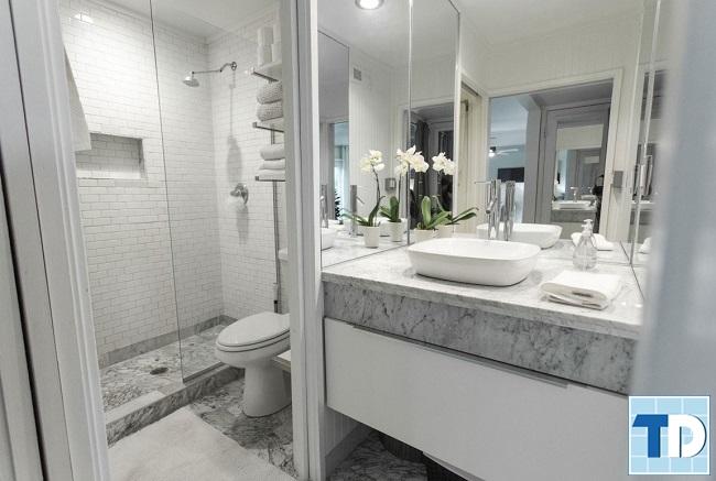 Phòng tắm cao cấp tiện nghi