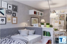 Giải pháp trang trí nội thất nhà cho chung cư nhỏ hẹp
