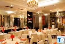 Phong thủy trong mẫu thiết kế nội thất nhà hàng tân cổ điển đẳng cấp