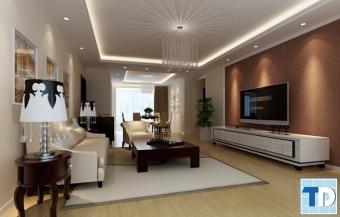 Mẫu thiết kế nội thất nhà ống tân cổ điển đơn giản