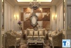 Mẫu nội thất nhà ống tân cổ điển quý phái sang trọng nhất mọi thời đại