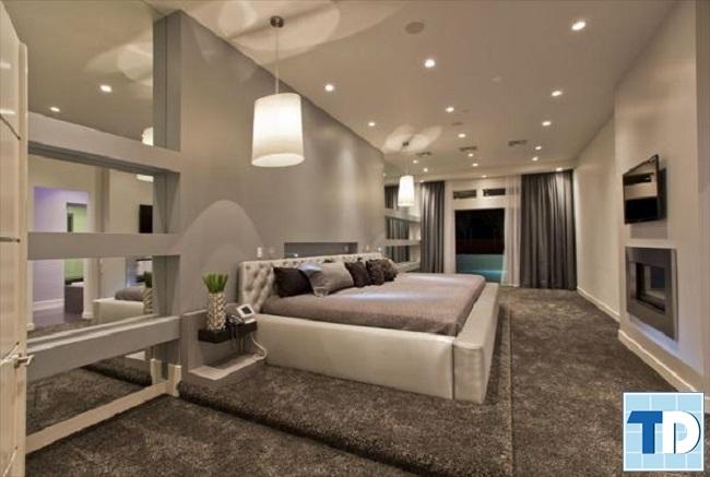 Phòng ngủ master lộng lẫy
