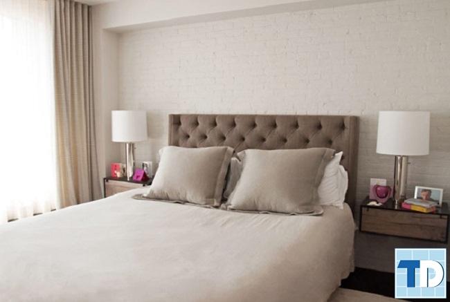 Phòng ngủ cô con gái đơn giản vì diện tích nhỏ