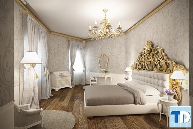 Phòng ngủ con gái nhẹ nhàng nữ tính