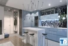Thiết kế nội thất phòng bếp chung cư đẹp nhà nhà yêu thích