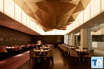 Kiến trúc nội thất nhà hàng đẹp quý phái đẳng cấp có một không hai