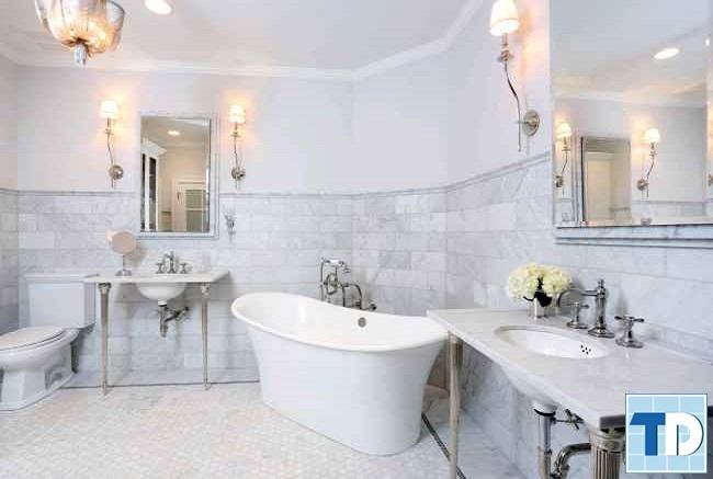 Mẫu phòng tắm tân cổ điển cao cấp