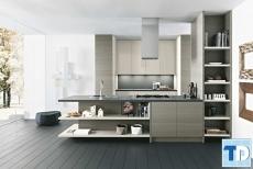 Mê mẩn với các mẫu thiết kế phòng bếp chung cư sang trọng