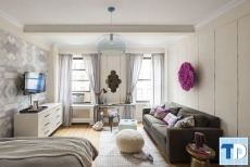 Thiết kế nội thất cho chung cư 40m2 đẹp nhỏ gọn xinh xắn