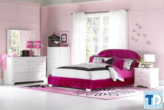 Phòng ngủ teen girl xinh xắn